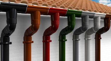 Водосточные системы: пластиковые или металлические
