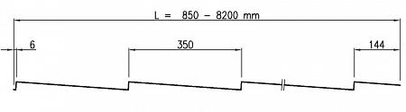 Металлочерепица Адамант (Adamante)